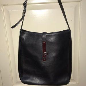 Salvatore Ferragamo Black leather purse